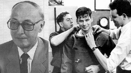 Albert A. Bühlmann & Hannes Keller, um dos pioneiros no estudo das vantagens descompressivas nas trocas isobáricas.