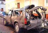 Cilindro com rosca refeita destruiu um veículo.